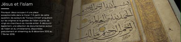 Jésus et l'islam (arte.tv)